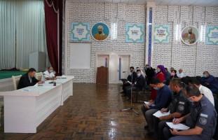 Хоразм вилояти ИИБ бошлиғининг навбатдаги сайёр қабули Хива шаҳрида бўлиб ўтди